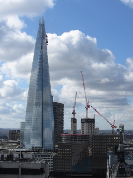 The Shard from The Monument