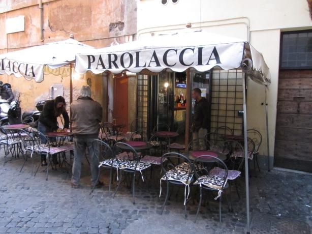 La Parolaccia Restaurant, Rome