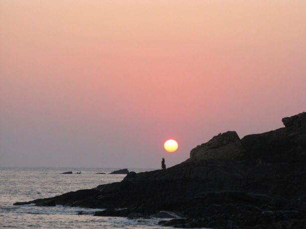 Sunset in Gokarna